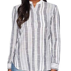 Chaps Vertical Stripe Cotton Shirt